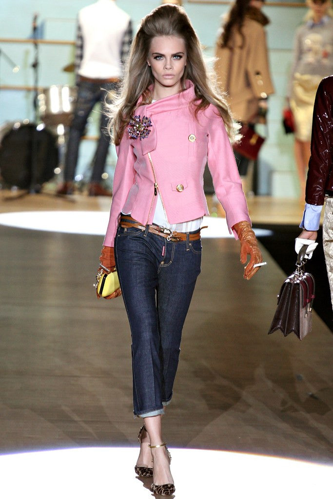 Dsquared2 - As Seen on the 2012 Fall Runway Collection, Look 5 - Jean Capri - IT 42