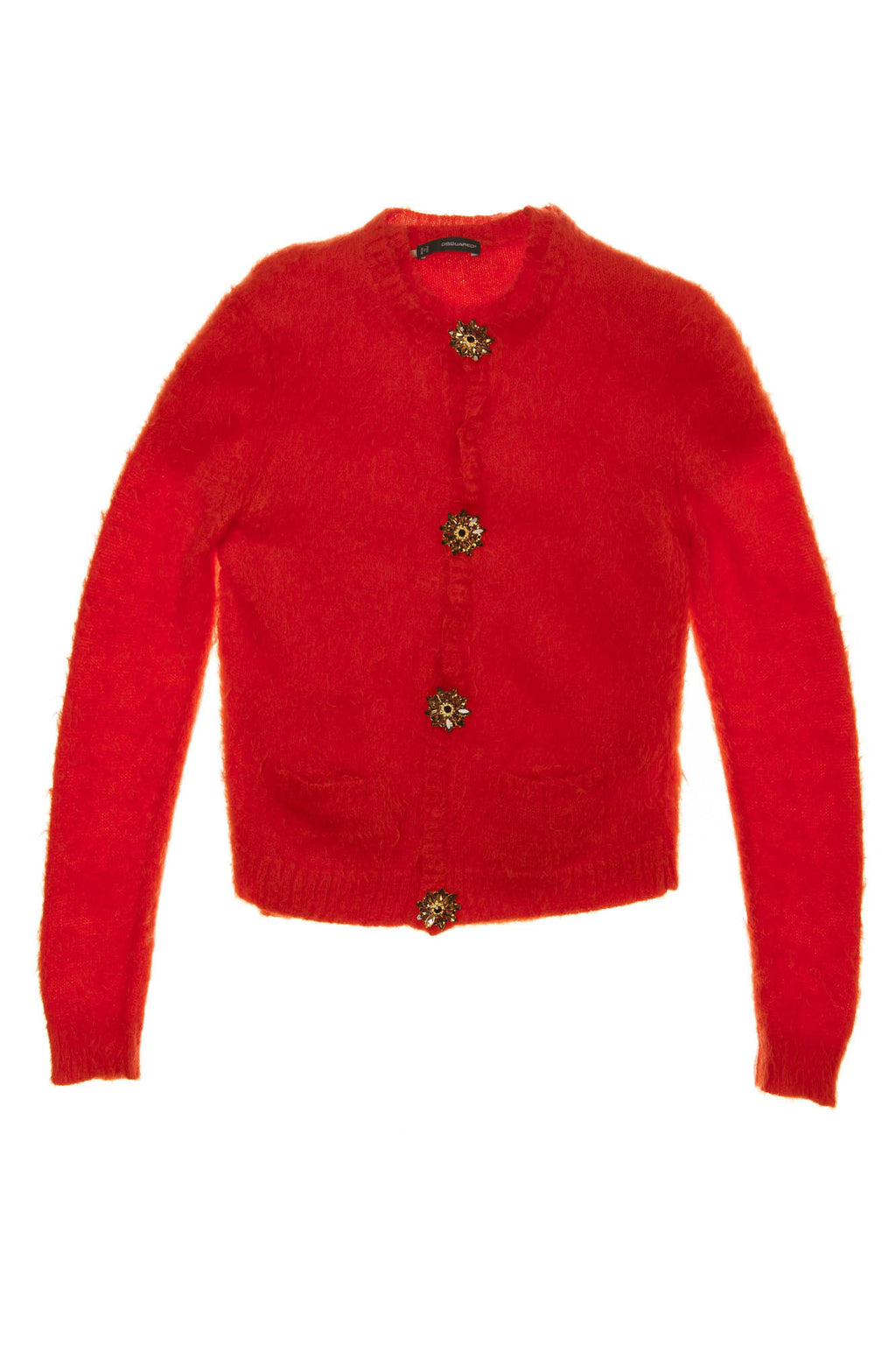 Dsquared2 - Red Sweater Cardigan - L