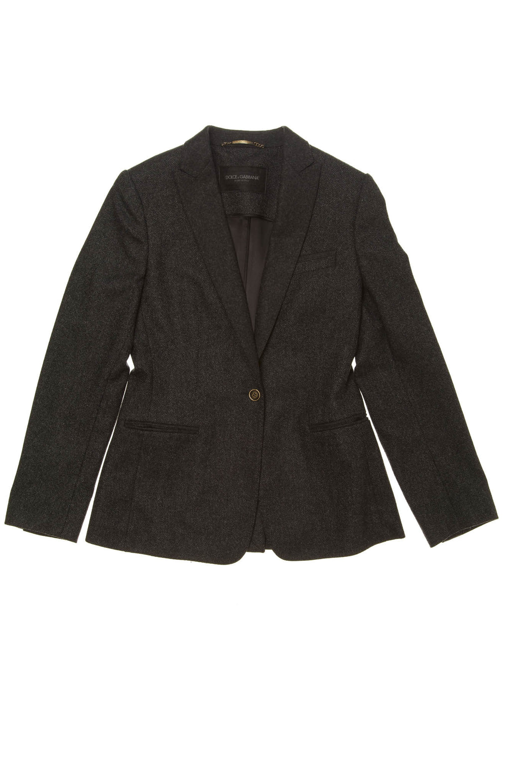 Dolce & Gabbana - Dark Gray Blazer - IT 42