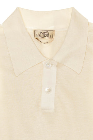 Authentic Hermes  - Off White Short Sleeve TShirt - XL