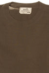 Hermes - Dark Olive Green Long Sleeve Shirt - L