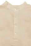 Authentic Hermes - Beige Linen Men's Shirt - IT 44
