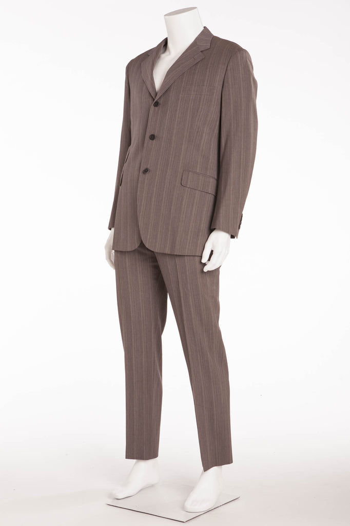 Authentic Hermes - New With Tags 2PC Grey Suit - IT 54