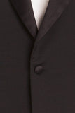 Authentic Hermes - 2PC Black Men's Tuxedo - IT 54