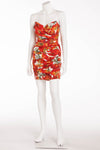 Dolce & Gabbana - Strapless Tomato Dress - IT 42
