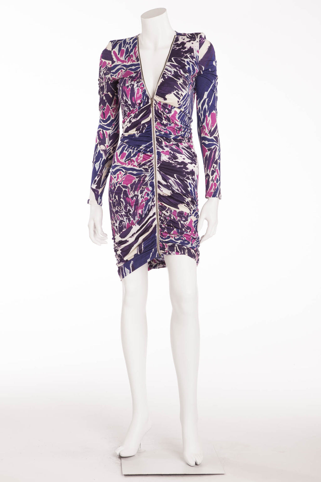 Emillio Pucci - Purple and Pink Zippered Dress - IT 42