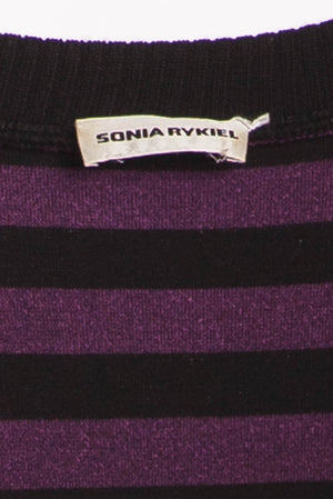 Sonia Rykiel - Purple Black Dress