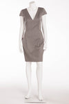 Original Alexander McQueen - Grey Herring Bone Dress - IT 40