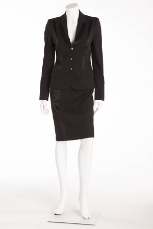Versace - 3pc Blazer, Skirt and Pants - IT 40