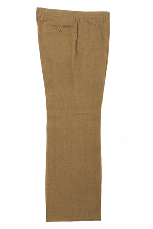 Hermes - Mustard Green Linen Pant - IT 54
