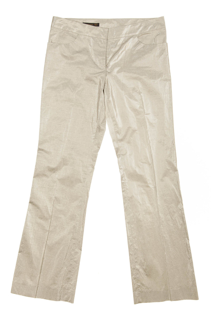 Original Alexander McQueen - Silver Pants - IT 40
