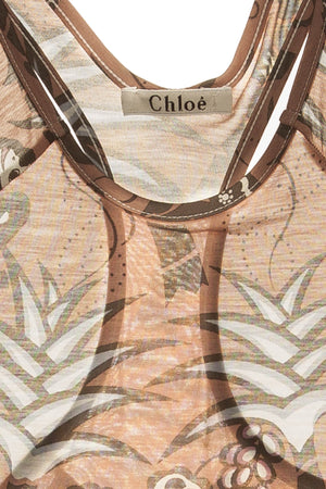 Chloe - Monkey and Palm Tree Top -