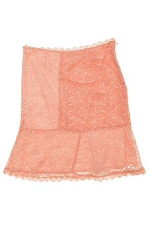 Moschino - Pink Lace Skirt -