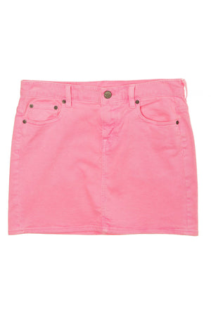 J.Crew - Hot Pink Denim Mini Skirt -