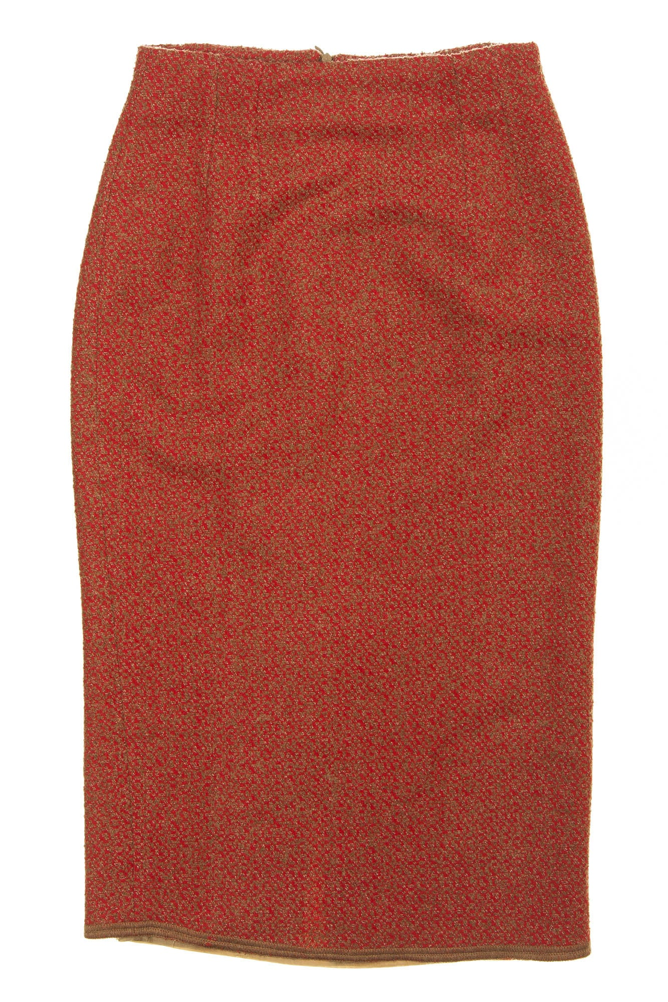 b73e395c7 Fendi - Red Pencil Skirt -IT 40 – LUXHAVE