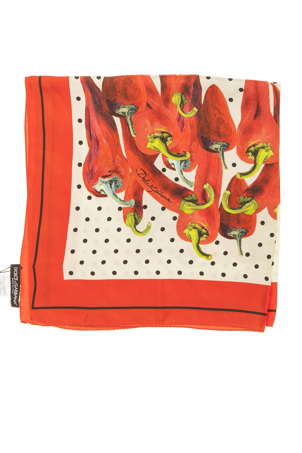 Dolce & Gabbana - Red Pepper Scarf - One Size
