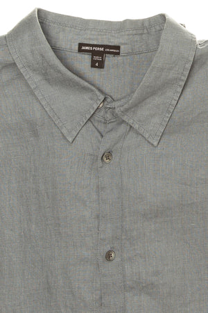 James Perse - Blue Linen Button Down - US 4
