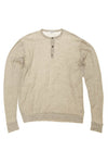 James Perse - Gray Long Sleeve Thermal - US 3