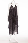 "BCBG Maxazaria Runway - Dark Blue ""Kat"" Halter Maxi Dress - XS"