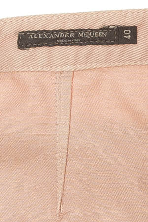 Original Alexander McQueen - Pink Denim Skirt - IT 40