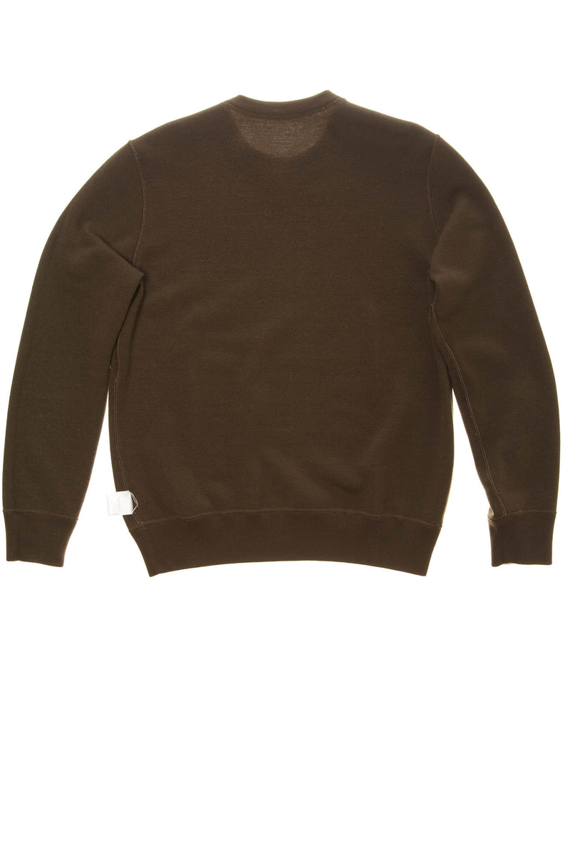 Hermes - Reversible Brown/Khaki Cashmere Men's Pullover Sweater -