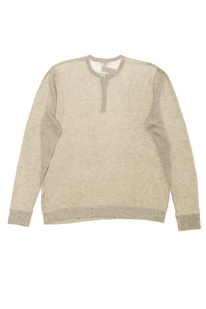James Perse - Gray Long Sleeve Thermal - 3