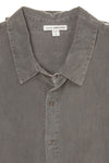 James Perse - Gray Long Sleeve Button Down - US 2