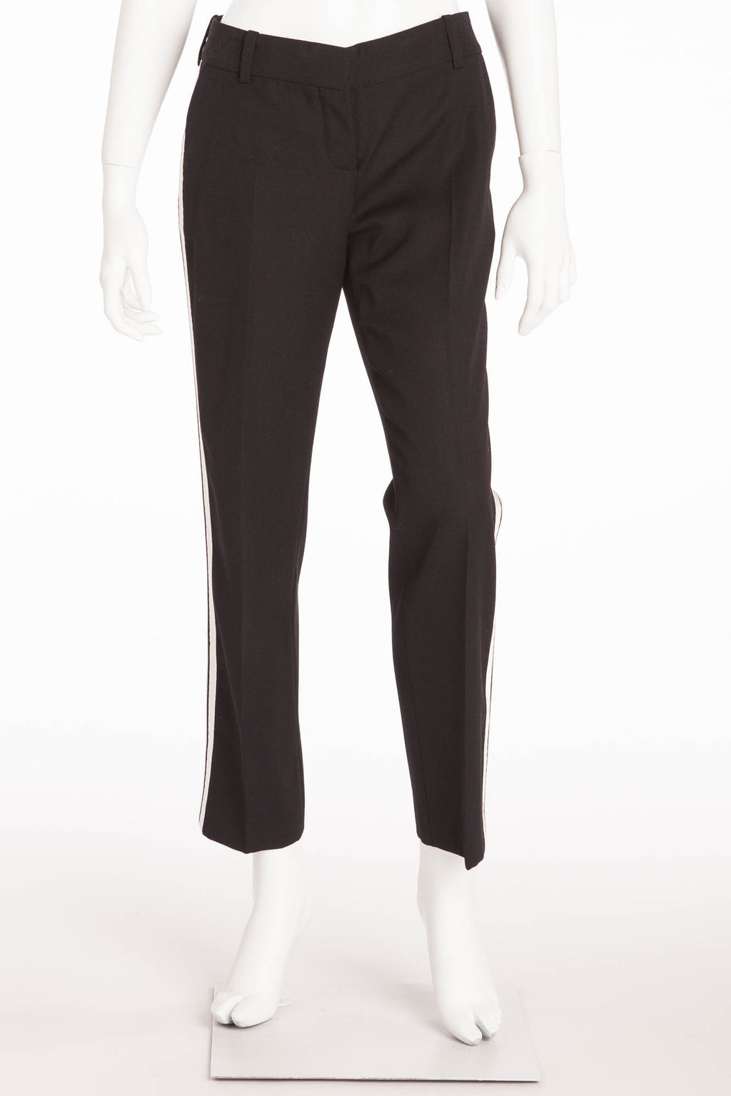 Balmain - Black  Tuxedo Style Skinny Dress Pants  - FR 40