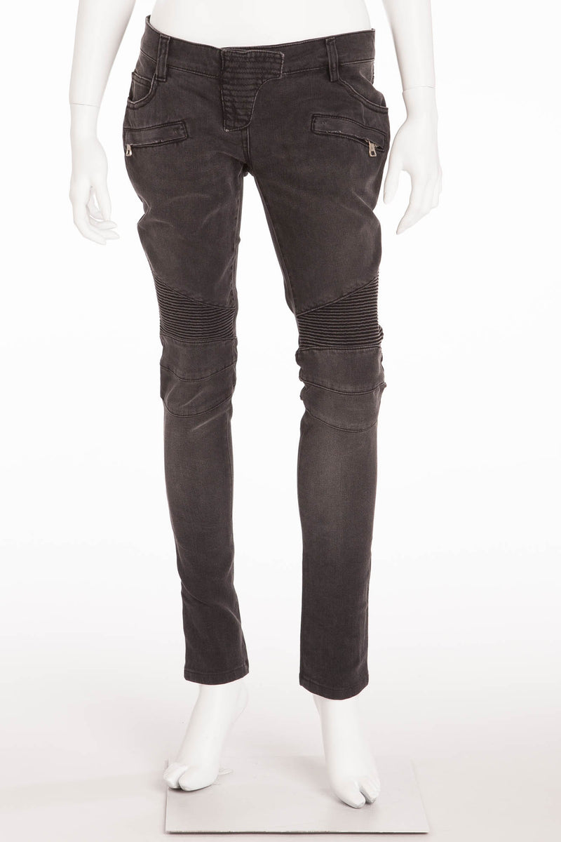 Balmain - Black Denim Jeans - FR 40