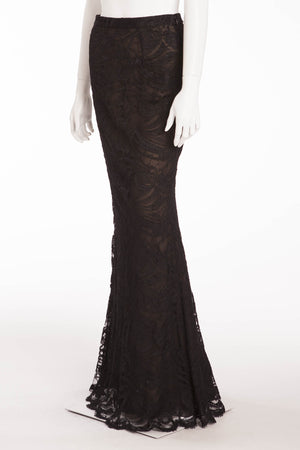 Emilio Pucci - Lace Black Maxi Skirt, IT 42