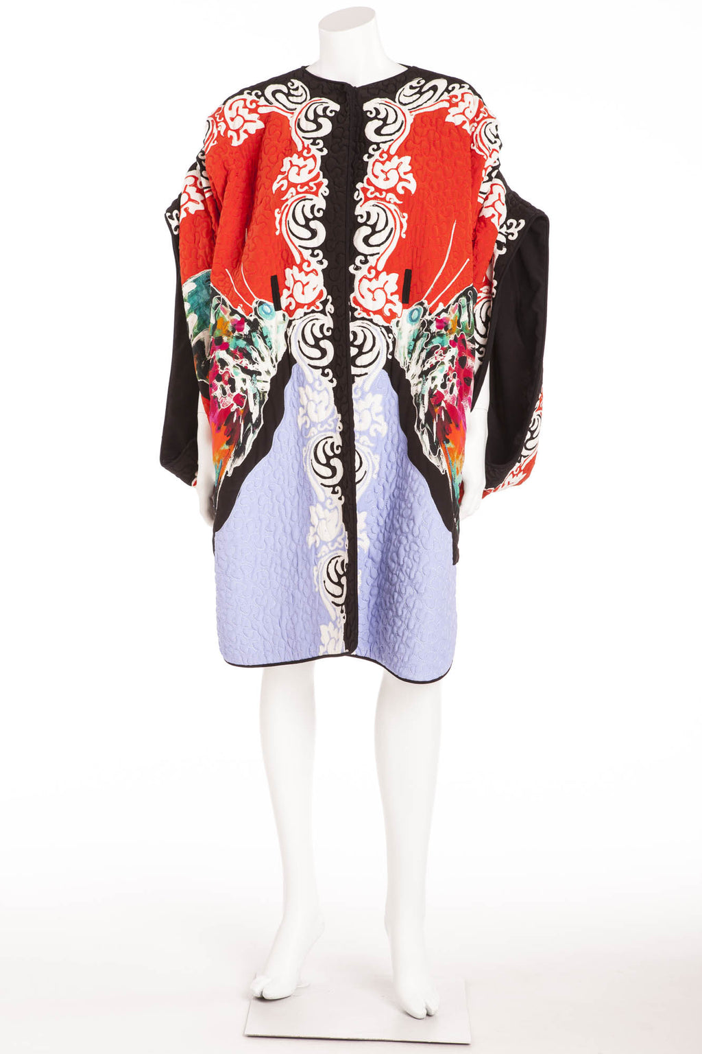 Etro  - Unique Multi Color Kimono Open Sleeve Coat New with Tags