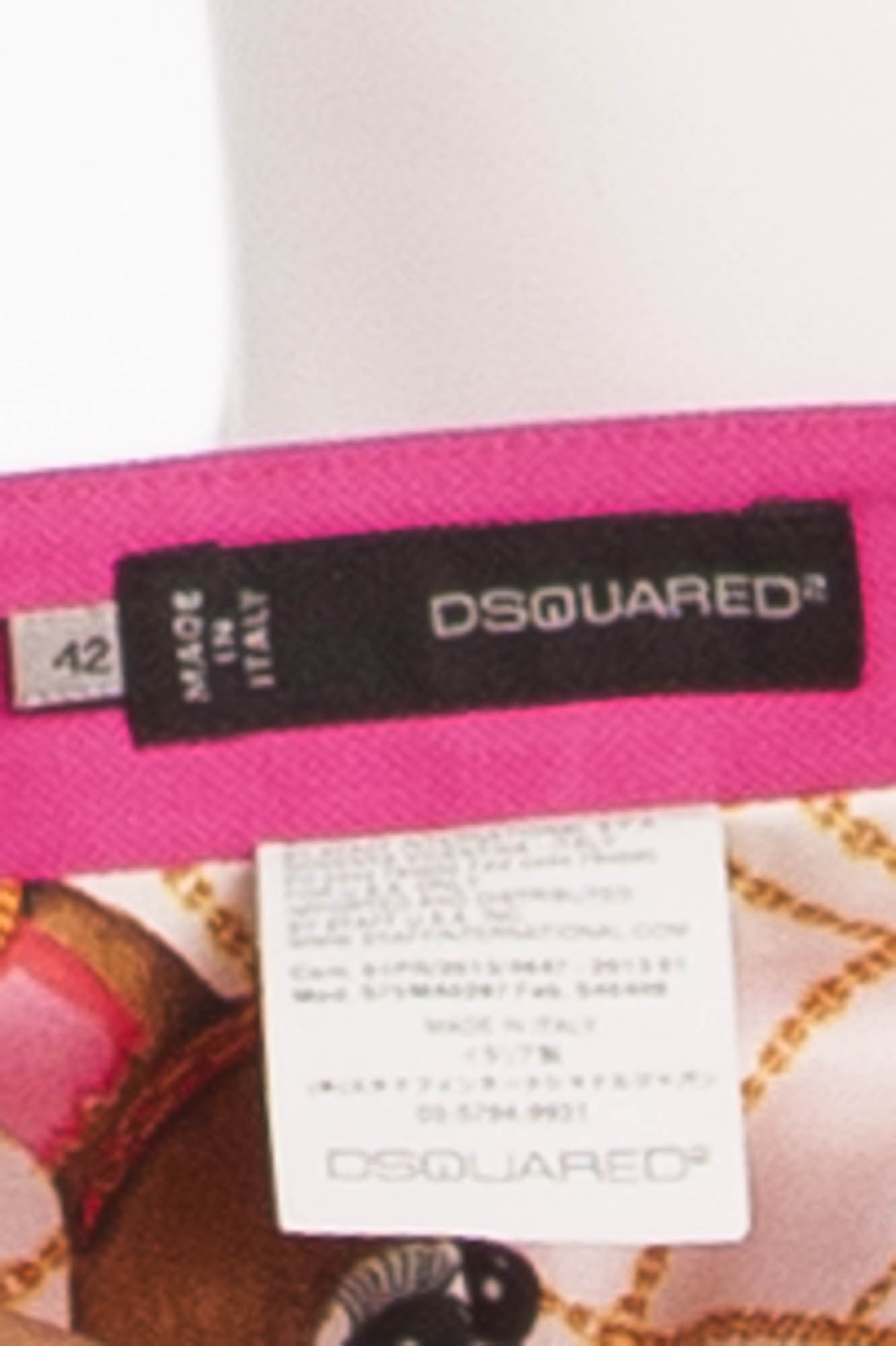 79346838b1 Dsquared2 - Hot Pink Pencil Skirt - IT 42