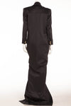 Balmain - Brand New with Tags Long Black Wool Coat Dress - FR 40