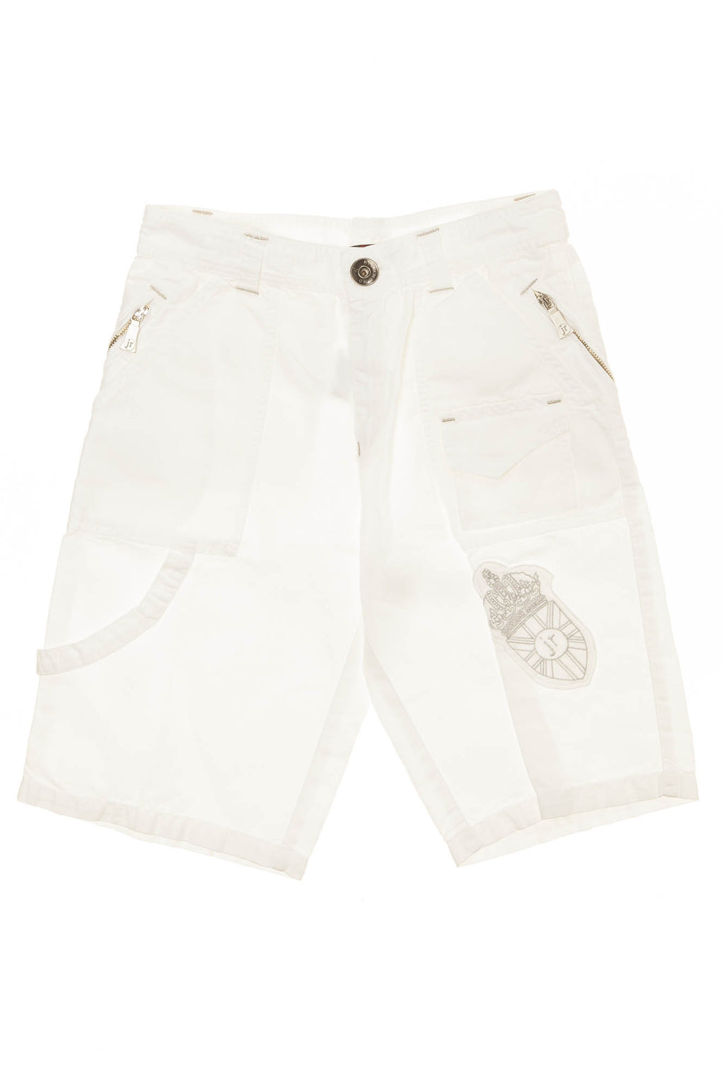 Richmond JR - White Cargo Shorts - 38
