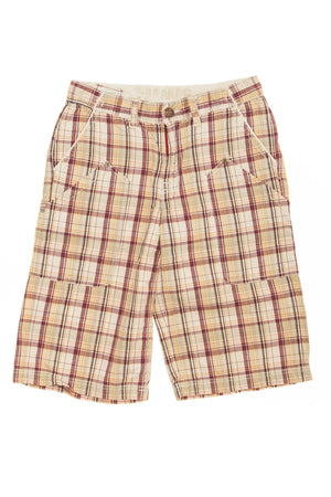 Z Brand - Red Plaid Shorts - 12