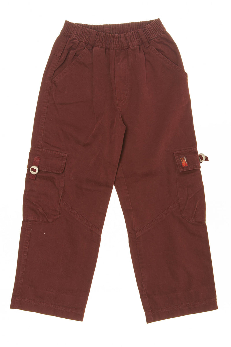Catimini - Burgundy Colored Cargo Pants - 6A