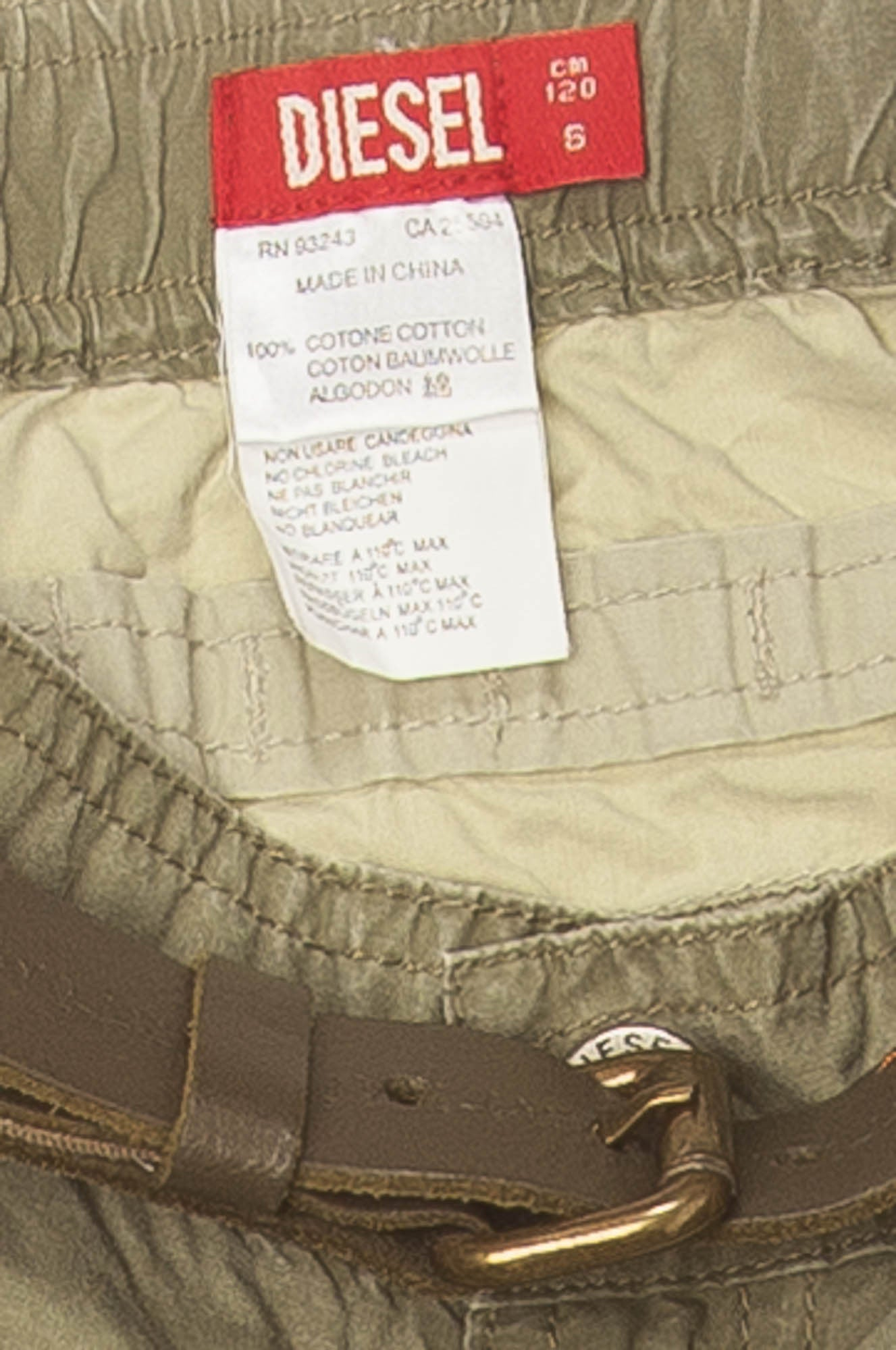 076675a719 Diesel - Olive Green Pants - 6 – LUXHAVE