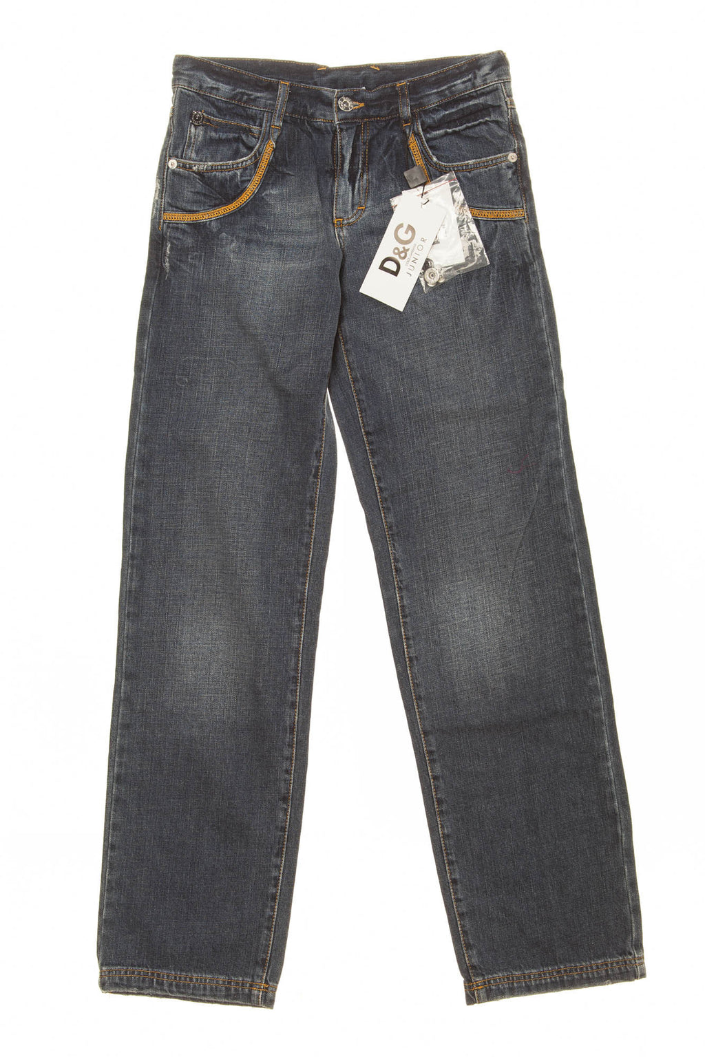 D & G Junior - Dark Wash Denim Jeans - 12