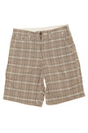 GapKids - Brown Plaid Shorts - 14