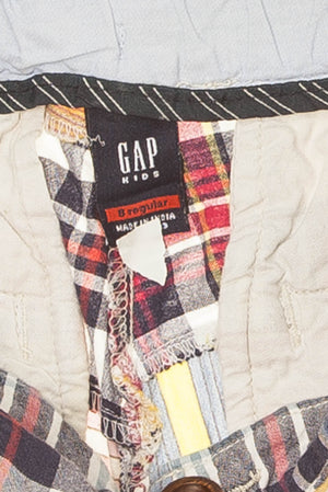 GapKids - Multicolor Plaid Shorts - 8