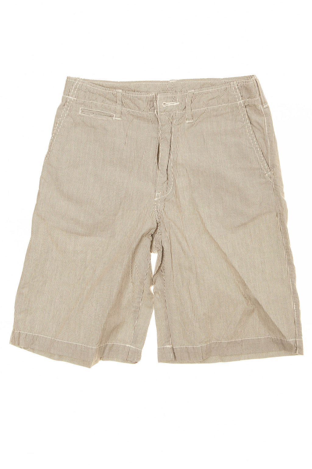GapKids - Brown and White Striped Cargo Shorts - 14