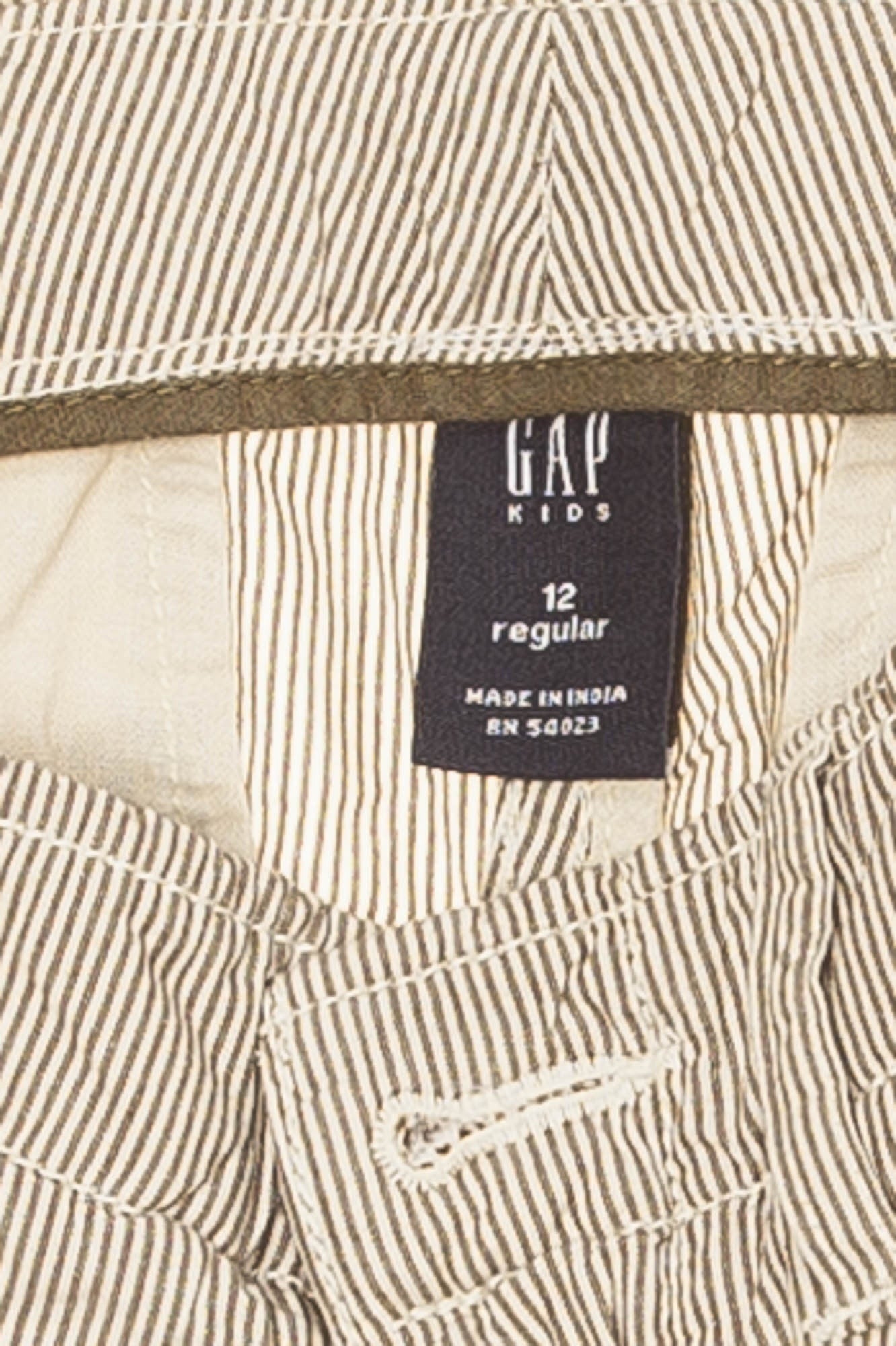 057066ac2d GapKids - Brown and White Striped Cargo Shorts - 14 – LUXHAVE