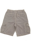 GapKids - Blue and White Striped Cargo Shorts - 14