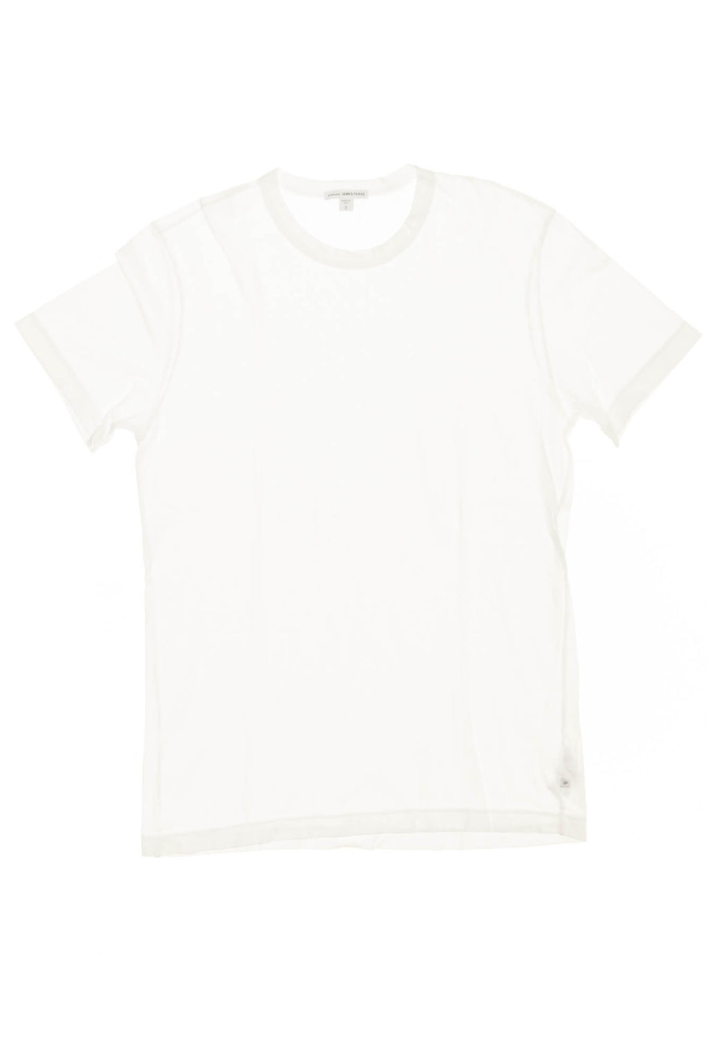James Perse - White Short Sleeve TShirt - 1