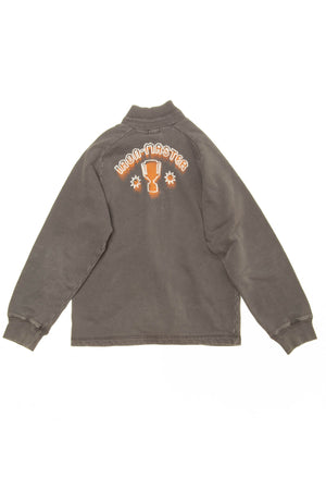 Diesel - Brown Long Sleeve Zip Up Sweatshirt