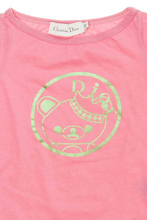 Christian Dior - Pink Short Sleeve Graphic T Shirt - 5A