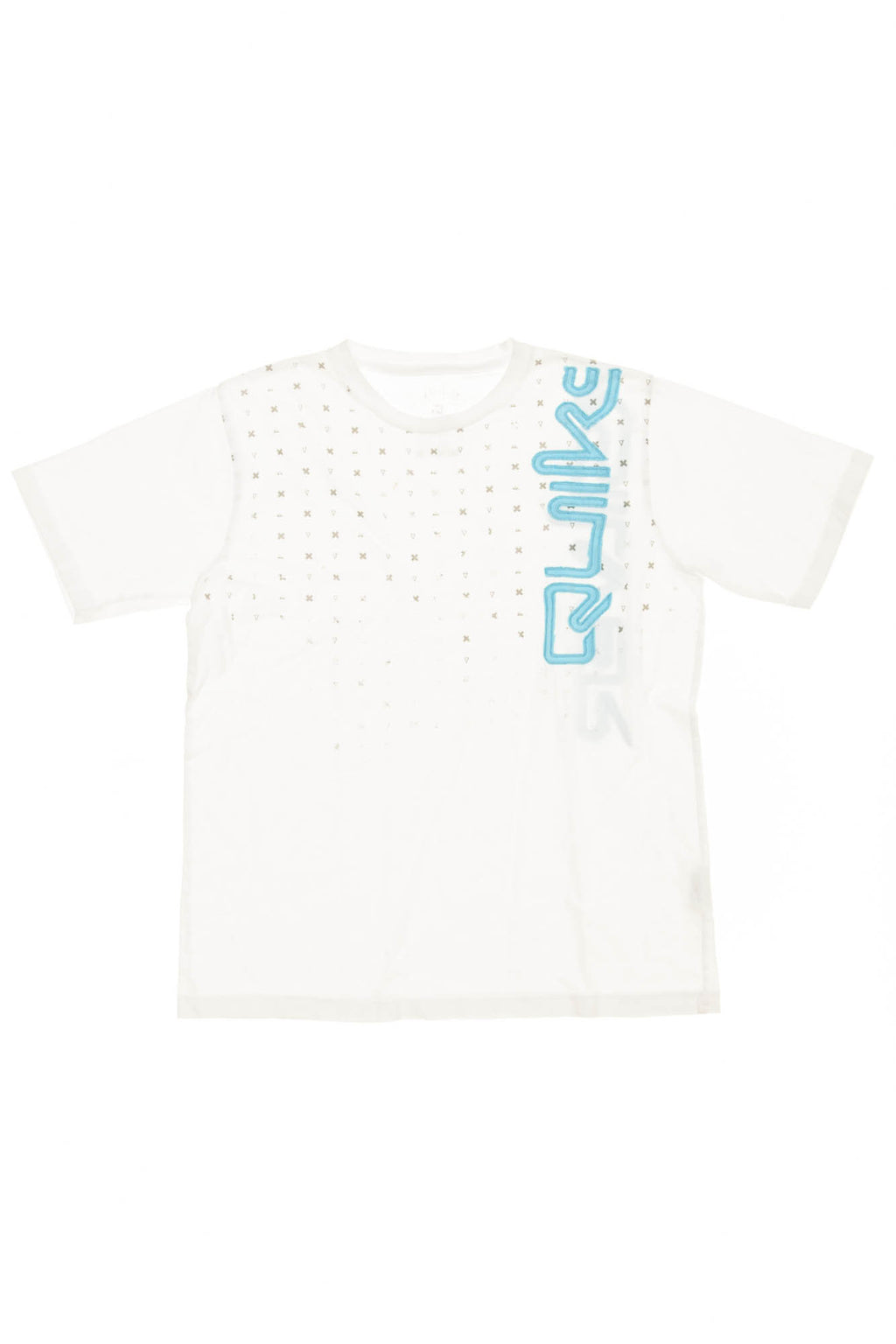 Quiksilver - White Graphic Short Sleeve Tshirt