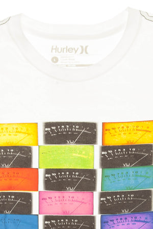Hurley - White Short Sleeve Graphic T Shirt - L