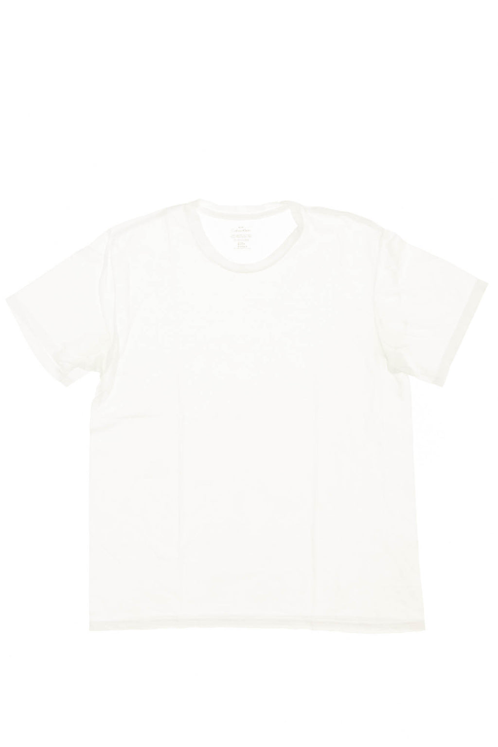 Calvin Klein - White Short Sleeve T Shirt - M
