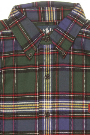 Polo By Ralph Lauren - Multi Color Plaid Button Up Dress Shirt